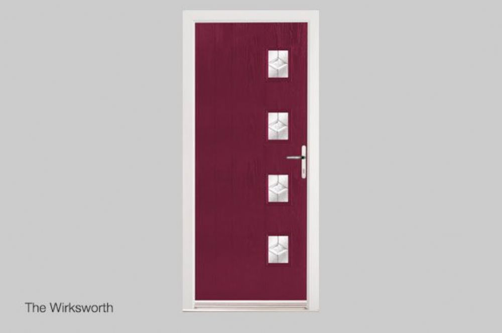 Contemporary Upvc Composite Front Amp Back Doors Eurocell