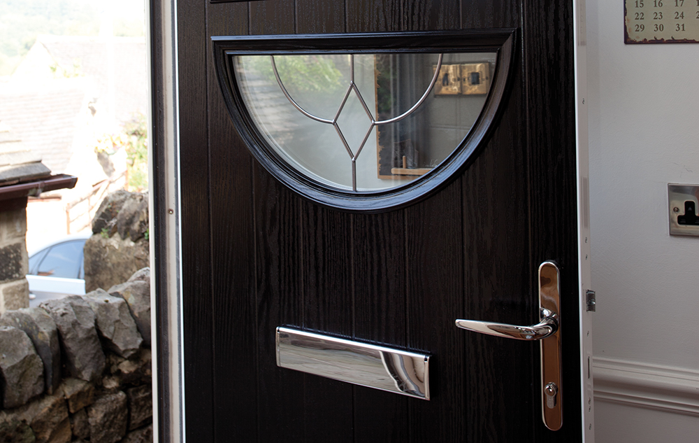 Contemporary UPVC Composite Front & Back Doors | Eurocell