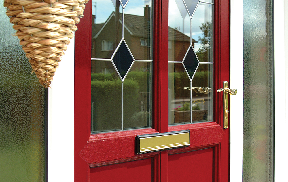 Pvcu residential front back door manufacturers eurocell for Residential back doors