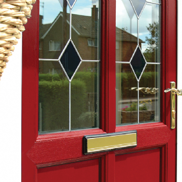 PVC-U Residential door