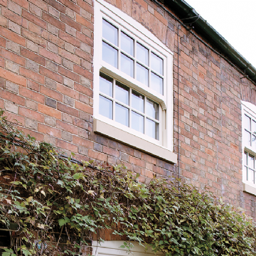 white upvc vertical sliding windows