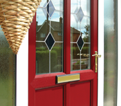UPVC entrance doors