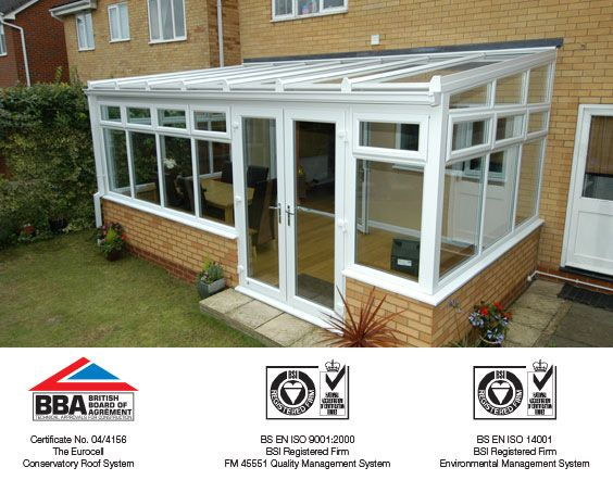 Lean-to conservatory accreditations
