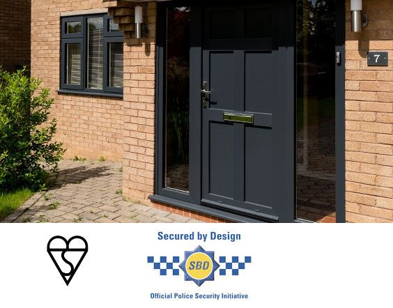 accredited upvc front doors