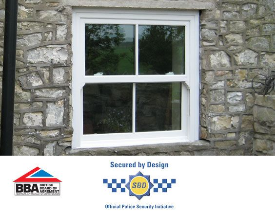Vertical sliding windows accreditations